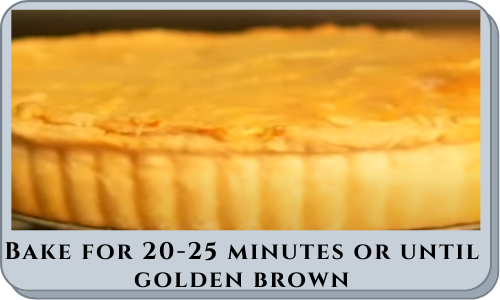 Bake for 20-25 minutes