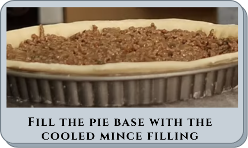 Fill the pie base