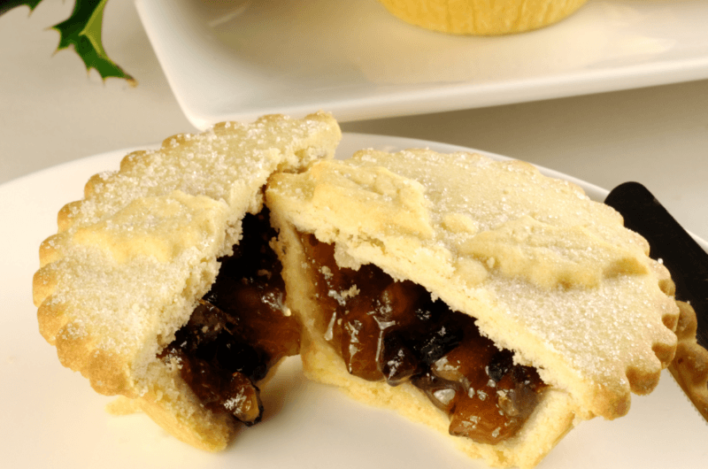 Shortcrust Pastry Mince Pies (with brandy butter)