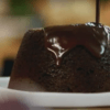 Steamed Chocolate Pudding with Creamy Chocolate Sauce